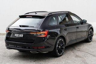 2020 Skoda Superb NP MY21 206TSI DSG SportLine Black 6 Speed Sports Automatic Dual Clutch Wagon.