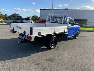 2016 Toyota Hilux GUN122R Workmate Blue 5 Speed Manual Cab Chassis