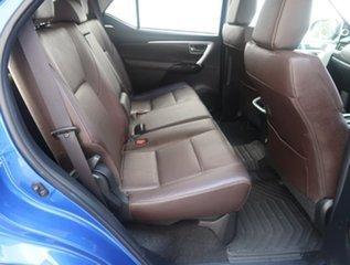 2015 Toyota Fortuner GUN156R Crusade Blue 6 Speed Automatic Wagon