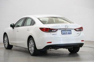 2016 Mazda 6 GJ1032 Sport SKYACTIV-Drive White 6 Speed Sports Automatic Sedan