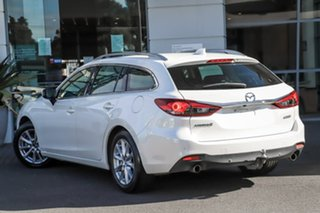 2014 Mazda 6 GJ1021 Touring SKYACTIV-Drive White 6 Speed Sports Automatic Wagon.