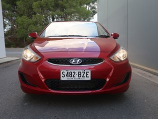 2019 Hyundai Accent RB6 MY19 Sport Red 6 Speed Sports Automatic Hatchback