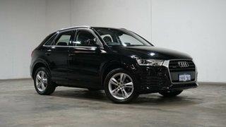 2018 Audi Q3 8U MY18 TFSI S Tronic Quattro Sport Mythos Black 7 Speed Sports Automatic Dual Clutch.
