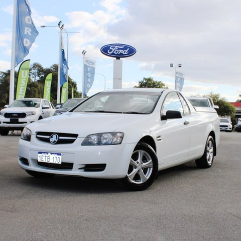 Used Holden Ute VE MY10 Omega Midland, 2010 Holden Ute VE MY10 Omega White 4 Speed Automatic Utility