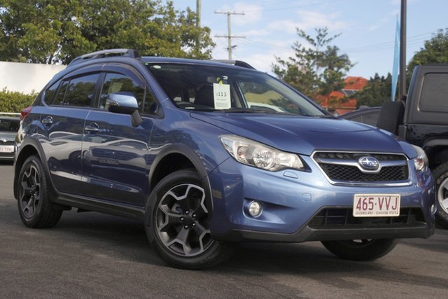 Used Subaru XV G4X MY14 2.0i-S Lineartronic AWD Mount Gravatt, 2015 Subaru XV G4X MY14 2.0i-S Lineartronic AWD Blue 6 Speed Constant Variable Wagon