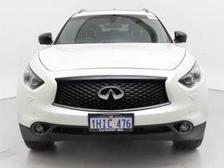 2016 Infiniti QX70 3.7 S Design White 7 Speed Automatic Wagon.