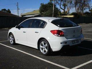 2012 Holden Cruze JH Series II Tu SRi White Automatic Hatchback.
