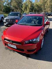 2013 Mitsubishi Lancer CJ MY14 ES Red 6 Speed Constant Variable Sedan