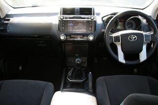 2014 Toyota Landcruiser Prado KDJ150R MY14 GXL (4x4) Silver Pearl 6 Speed Manual Wagon