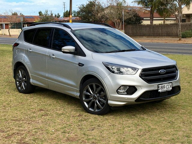 Used Ford Escape ZG 2019.25MY ST-Line Cheltenham, 2019 Ford Escape ZG 2019.25MY ST-Line Silver 6 Speed Sports Automatic SUV