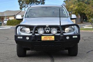 2017 Volkswagen Amarok 2H MY17 TDI400 4MOT Core Plus Silver 6 Speed Manual Utility.
