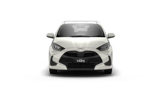 2021 Toyota Yaris Mxpa10R SX Crystal Pearl 1 Speed Constant Variable Hatchback