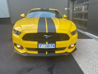2016 Ford Mustang FM 2017MY GT Fastback SelectShift Yellow 6 Speed Sports Automatic Fastback
