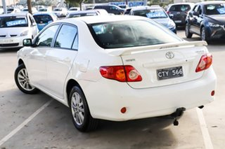 2009 Toyota Corolla ZRE152R Ascent White 4 Speed Automatic Sedan.