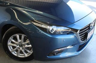 2016 Mazda 3 BM5478 Touring SKYACTIV-Drive Blue 6 Speed Sports Automatic Hatchback.