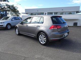 2015 Volkswagen Golf VII MY15 90TSI DSG Comfortline Limestone Grey 7 Speed Automatic Hatchback.