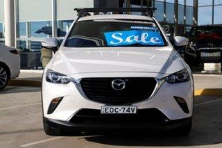2017 Mazda CX-3 DK2W76 Neo SKYACTIV-MT White 6 Speed Manual Wagon