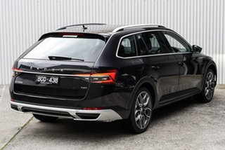 2020 Skoda Superb NP MY21 200TSI DSG Scout Black 7 Speed Sports Automatic Dual Clutch Wagon.