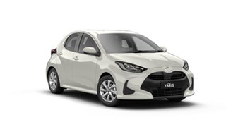 2021 Toyota Yaris Mxpa10R SX Crystal Pearl 1 Speed Constant Variable Hatchback.