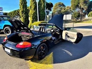 2000 Porsche Boxster Black 5 Speed Sports Automatic Convertible