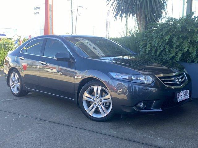 Used Honda Accord Euro Luxury Beaudesert, 2012 Honda Accord Euro Luxury Grey 5 Speed Automatic Sedan