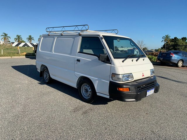Used Mitsubishi Express SJ-MY05 SWB Wangara, 2005 Mitsubishi Express SJ-MY05 SWB White 5 Speed Manual Van