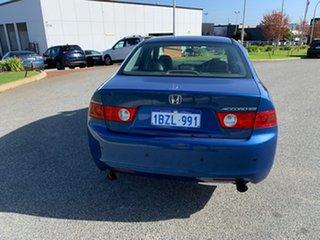 2005 Honda Accord Euro Blue 5 Speed Sequential Auto Sedan