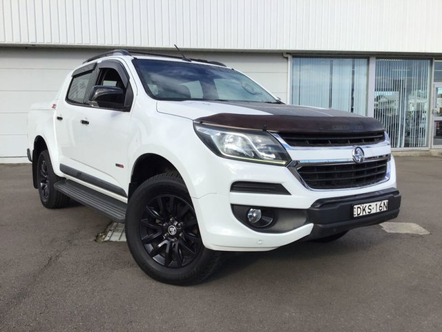 Used Holden Colorado RG MY16 Z71 Crew Cab Cardiff, 2016 Holden Colorado RG MY16 Z71 Crew Cab White 6 Speed Sports Automatic Utility