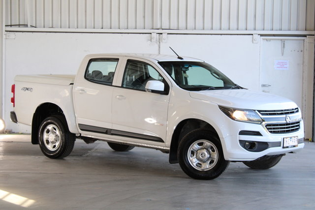 Used Holden Colorado RG MY17 LS Crew Cab Laverton North, 2017 Holden Colorado RG MY17 LS Crew Cab White 6 Speed Sports Automatic Cab Chassis
