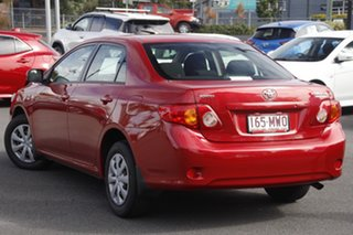 2009 Toyota Corolla ZRE152R Ascent Red 4 Speed Automatic Sedan