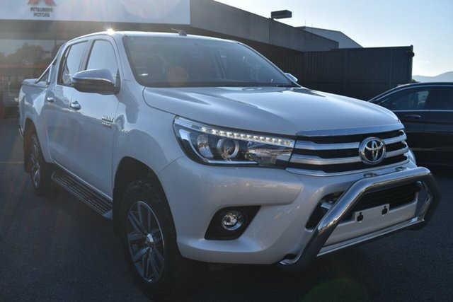 Used Toyota Hilux GUN126R SR5 Double Cab Wantirna South, 2017 Toyota Hilux GUN126R SR5 Double Cab White 6 Speed Sports Automatic Utility