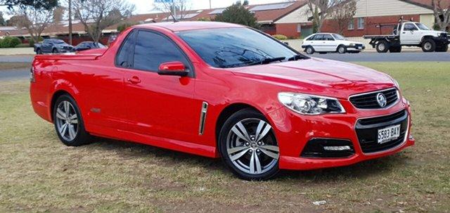 Used Holden Ute VF MY14 SS Ute Cheltenham, 2013 Holden Ute VF MY14 SS Ute Red 6 Speed Sports Automatic Utility