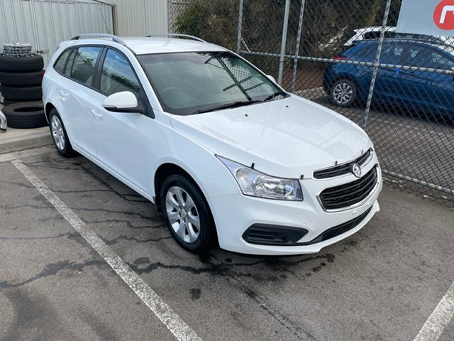 Used Holden Cruze JH Series II MY16 CD Sportwagon Devonport, 2016 Holden Cruze JH Series II MY16 CD Sportwagon Summit White 6 Speed Sports Automatic Wagon