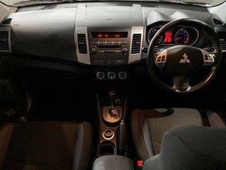 2008 Mitsubishi Outlander ZG MY09 Platinum Edition Black 6 Speed Constant Variable Wagon