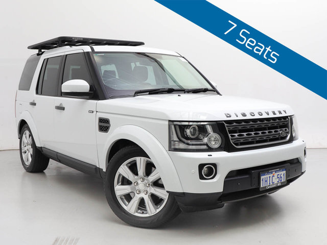 Used Land Rover Discovery MY14 3.0 SDV6 SE, 2014 Land Rover Discovery MY14 3.0 SDV6 SE Fuji White 8 Speed Automatic Wagon