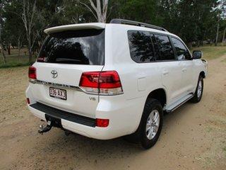2018 Toyota Landcruiser VDJ200R MY16 GXL (4x4) Crystal Pearl 6 Speed Automatic Wagon.