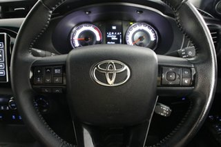 2018 Toyota Hilux GUN126R Rugged X (4x4) Grey 6 Speed Manual Dual Cab Utility