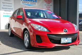 2013 Mazda 3 BL Series 2 MY13 Neo Red 5 Speed Automatic Hatchback