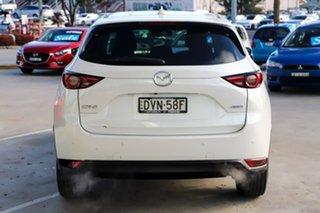 2018 Mazda CX-5 KF2W7A Maxx SKYACTIV-Drive FWD Sport White 6 Speed Sports Automatic Wagon