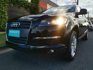2008 Audi Q7 MY07 Upgrade 3.0 TDI Quattro Black 6 Speed Tiptronic Wagon
