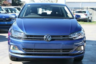 2021 Volkswagen Polo AW MY21 85TSI DSG Comfortline Blue 7 Speed Sports Automatic Dual Clutch