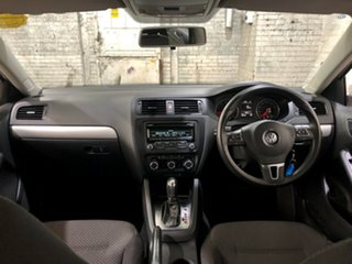 2013 Volkswagen Jetta 1B MY13.5 118TSI DSG White 7 Speed Sports Automatic Dual Clutch Sedan