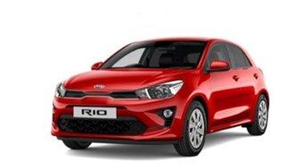 2021 Kia Rio YB MY21 S Signal Red 6 Speed Automatic Hatchback