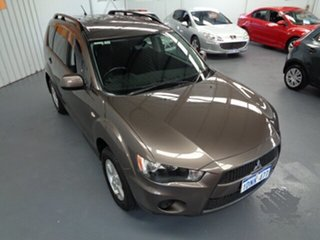 2010 Mitsubishi Outlander ZH MY11 LS 2WD Bronze 6 Speed Constant Variable Wagon