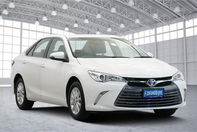Used Toyota Camry ASV50R Altise Victoria Park, 2016 Toyota Camry ASV50R Altise White 6 Speed Sports Automatic Sedan