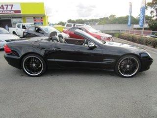 2002 Mercedes-Benz SL-Class R230 SL500 Black 5 Speed Sports Automatic Roadster