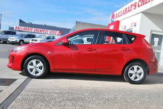 2013 Mazda 3 BL Series 2 MY13 Neo Red 5 Speed Automatic Hatchback.