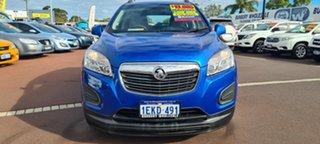 2013 Holden Trax TJ MY14 LS Blue 5 Speed Manual Wagon.