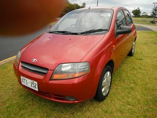 2003 Daewoo Kalos T200 Red 4 Speed Automatic Hatchback