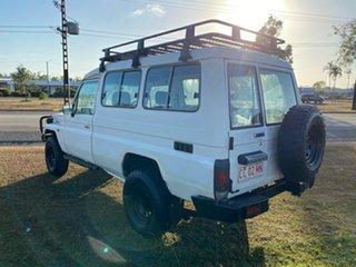 2000 Toyota Landcruiser HZJ78R Troopcarrier White 5 Speed Manual Wagon